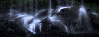 Veins of waterfall