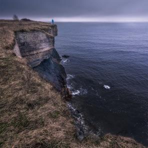 Dramatic coastline