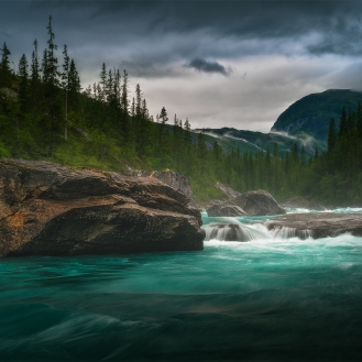 glacier river